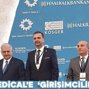 KOBİ ve Girişimcilik Ödülü Mone Medikal'in